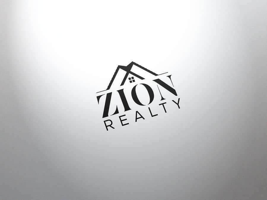 """Penyertaan Peraduan #459 untuk Logo for """"Zion Realty"""""""