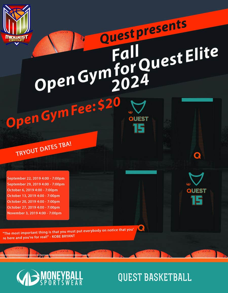 Contest Entry #46 for Basketball Flyer