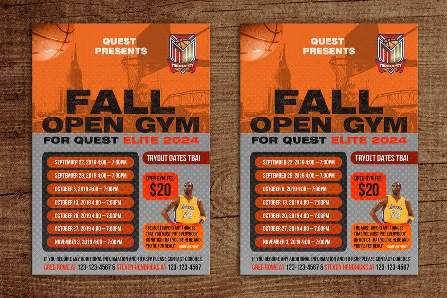 Конкурсная заявка №27 для Basketball Flyer