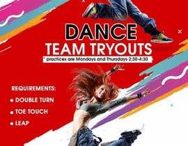 #24 untuk Dance team tryout flyer oleh maidang34