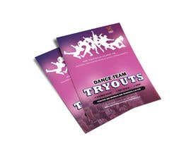 #14 cho Dance team tryout flyer bởi DesignerBU
