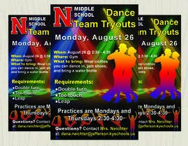 #21 cho Dance team tryout flyer bởi brightsignflexpr