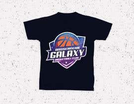 Nro 8 kilpailuun Bassendean Galaxy Basketball Club logo käyttäjältä zainashfaq8