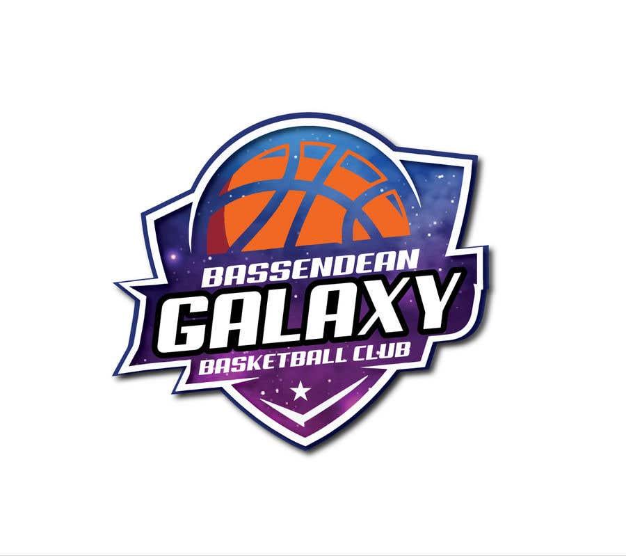 Kilpailutyö #13 kilpailussa Bassendean Galaxy Basketball Club logo