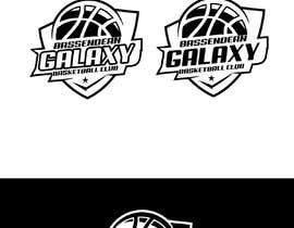 Nro 17 kilpailuun Bassendean Galaxy Basketball Club logo käyttäjältä zainashfaq8