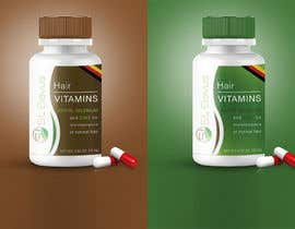 #155 for Label for organic / dietary supplement brand for global sale by Sergio4D