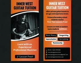 #33 cho Design a flyer for guitar tuition bởi SarahDar