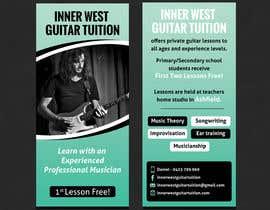 #34 cho Design a flyer for guitar tuition bởi SarahDar