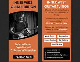 #39 cho Design a flyer for guitar tuition bởi SarahDar
