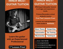 #42 cho Design a flyer for guitar tuition bởi SarahDar