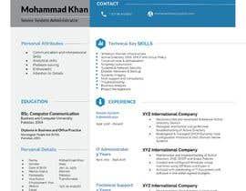 #20 para Redesign Resume / CV (Content Ready) - Only Design Template Needed por rakibhero969