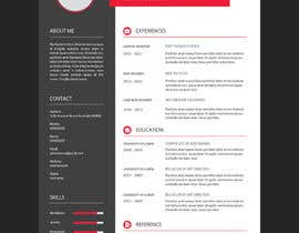 #10 para Redesign Resume / CV (Content Ready) - Only Design Template Needed por asmish