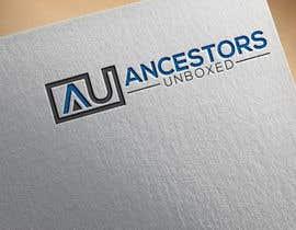 #37 untuk Logo for Ancestors Unboxed oleh jakirjack65
