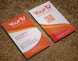 #50 for Design Namecard YourTV by CreativeNabil