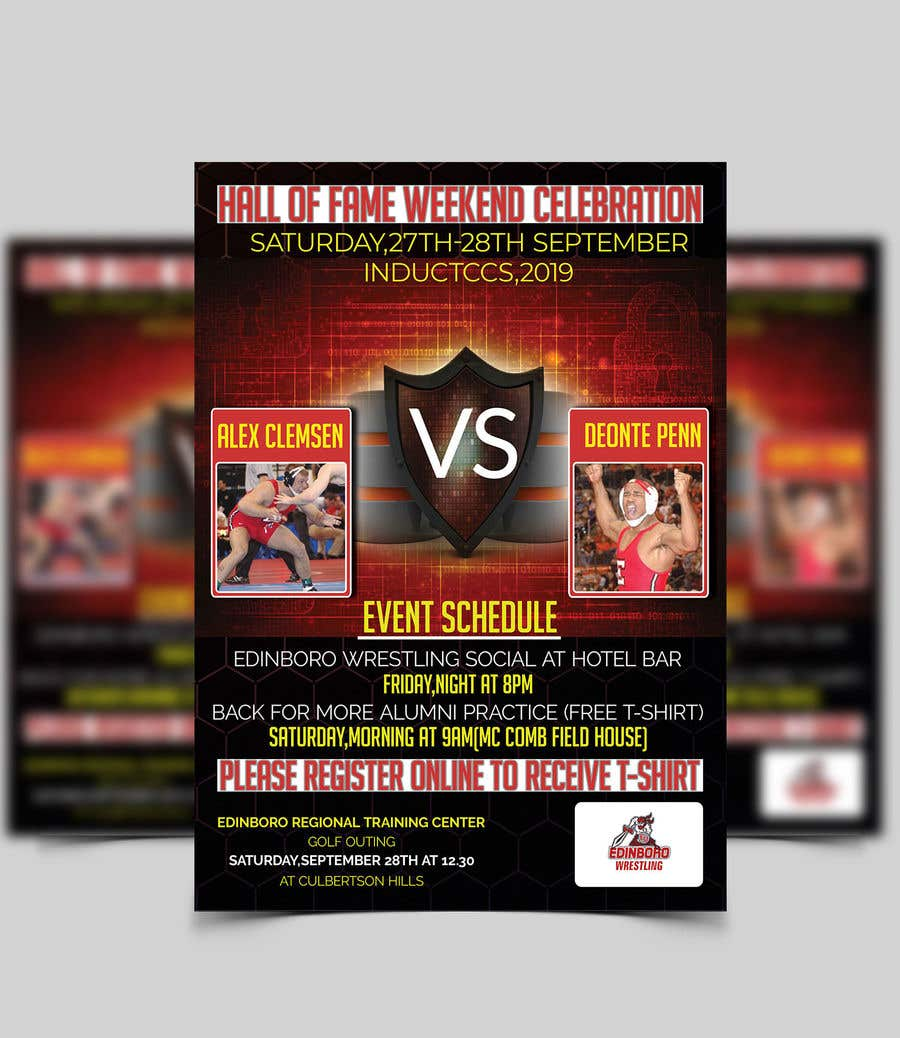 Konkurrenceindlæg #56 for Event Flyer