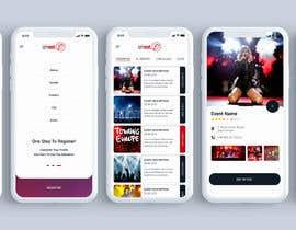 #4 for Design de l'application mobile événementiels af blackdahlia24