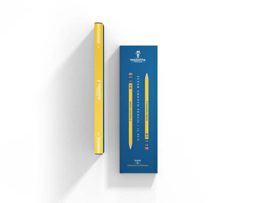 Bài tham dự cuộc thi #10 cho Package Design For A Dozen Pencils