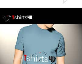 graphics7 tarafından Logo Design for new online tshirt shop - tshirts4u için no 8