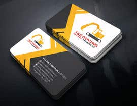 #202 for Lay out a simple business card by SLBNRLITON