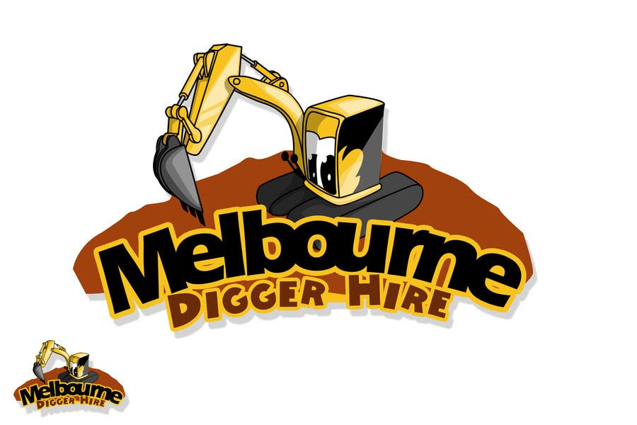 #5 for Logo Design for an Excavator hire company by rogeliobello