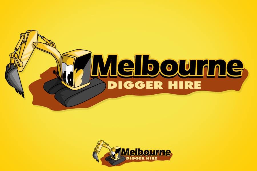 Penyertaan Peraduan #                                        13                                      untuk                                         Logo Design for an Excavator hire company