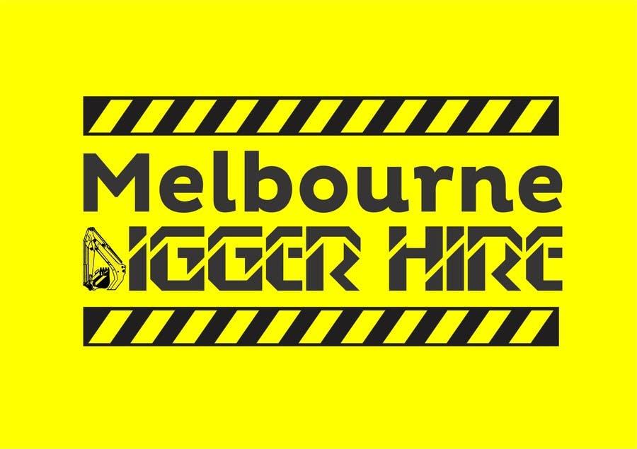 Penyertaan Peraduan #                                        20                                      untuk                                         Logo Design for an Excavator hire company