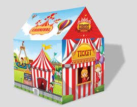 #45 untuk Graphic Design for Kids Tent Houses oleh deyali