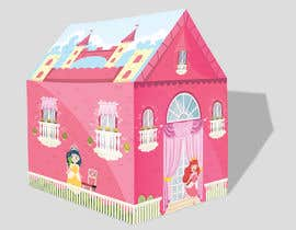 #53 untuk Graphic Design for Kids Tent Houses oleh deyali