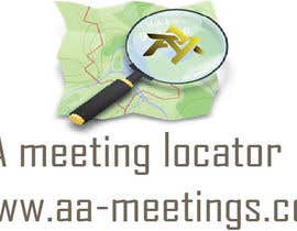 #7 for LOGO Design forAA Meeting Locator by saineefprasla