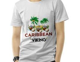 "nupurrani tarafından ""Caribbean Viking"" shirt designs için no 28"