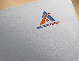 "#132 cho Logo designed for a company; name is Awavetech pronounced ""a-wave-tech"". Logo should include the letter ""a"" and a wave 1 color. Looking for something bold. The copyright and files are apart of the agreement. Files need to be sent in ai, eps, png, pdf. bởi techtwin13"