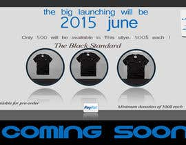 #4 cho Coming soon luxory brand website needed (1 page) bởi birhanedangew