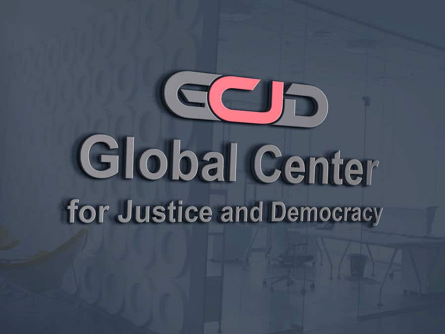 Bài tham dự cuộc thi #24 cho Logo for Global Center for Justice and Democracy (GCJD)