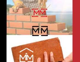 nº 119 pour A logo for a bricklayer with two Ms par Farukpatikal