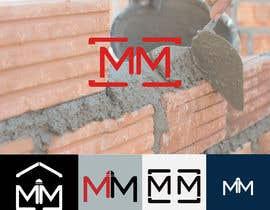 nº 120 pour A logo for a bricklayer with two Ms par Farukpatikal