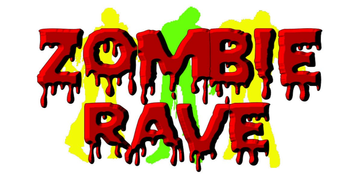 Contest Entry #66 for Logo Design for ZOMBIE RAVE