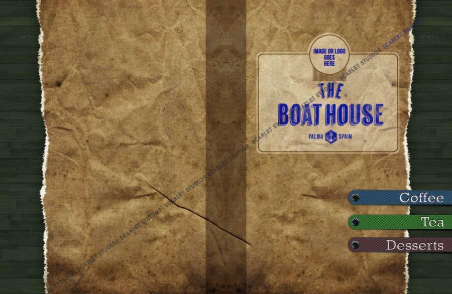 Penyertaan Peraduan #                                        1                                      untuk                                         I need some Graphic Design for the Boathouse Restaurant and Bar