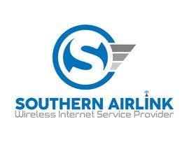 Nro 89 kilpailuun Logo for Southern AirLink - Wireless Internet Service Provider käyttäjältä fleru