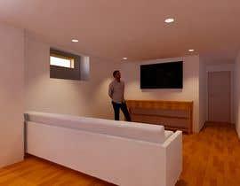 Nro 26 kilpailuun Design Floor plans for finished basement käyttäjältä bilro