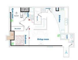 Nro 39 kilpailuun Design Floor plans for finished basement käyttäjältä Parchami