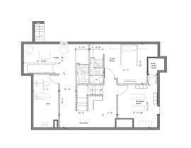 Nro 36 kilpailuun Design Floor plans for finished basement käyttäjältä HakoArquitectos