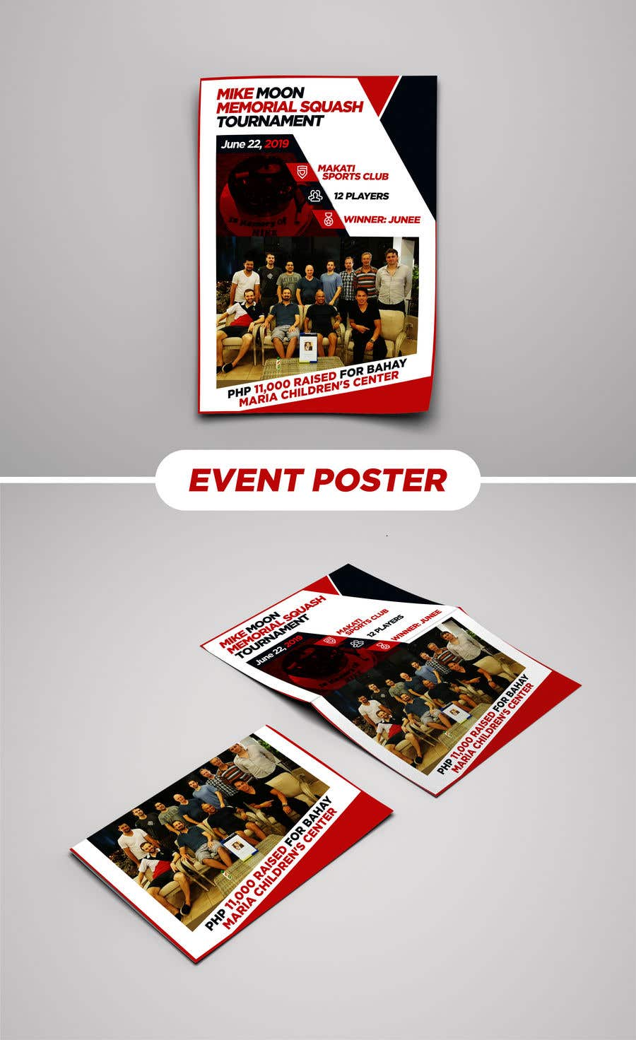 Proposition n°24 du concours 1 page event poster