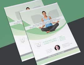 #198 для Dear Freelancer,   I'd like you to use your beautiful creativity and talent to create a marketing POSTER and a FLYER for my YOGA activity which I can easily change the text/objects afterwards.   Those should be inspired and in accordance with my LOGO and  от jaynalgfx
