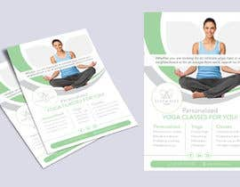 #45 for Dear Freelancer,   I'd like you to use your beautiful creativity and talent to create a marketing POSTER and a FLYER for my YOGA activity which I can easily change the text/objects afterwards.   Those should be inspired and in accordance with my LOGO and  by Skrebe