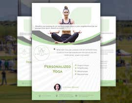 #246 для Dear Freelancer,   I'd like you to use your beautiful creativity and talent to create a marketing POSTER and a FLYER for my YOGA activity which I can easily change the text/objects afterwards.   Those should be inspired and in accordance with my LOGO and  от DesignerSohan