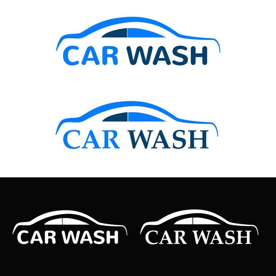 Car Wash Logo Design Uber for car wash app logo design graphic design ...