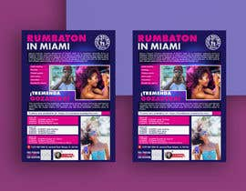 #115 untuk Flyers for A Dancing workshop special event and practice party in miami oleh almamuncool