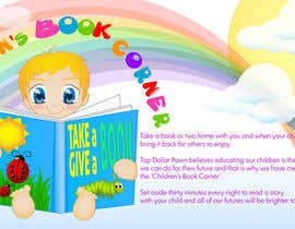 #9 for Illustration Design for The Children's Book Corner at Top Dollar Pawn by sydjeii