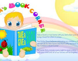 #10 dla Illustration Design for The Children's Book Corner at Top Dollar Pawn przez sydjeii