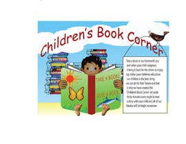 #22 para Illustration Design for The Children's Book Corner at Top Dollar Pawn de amanduttsharma33